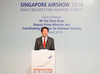 "DPM Teo Chee Hean officially opens Singapore Airshow 2016 • <a style=""font-size:0.8em;"" href=""http://www.flickr.com/photos/139546847@N02/25077136752/"" target=""_blank"">View on Flickr</a>"