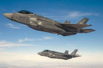 """F-35 Joint Strike Fighters (JSF) • <a style=""""font-size:0.8em;"""" href=""""http://www.flickr.com/photos/139546847@N02/24827663389/"""" target=""""_blank"""">View on Flickr</a>"""