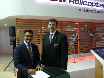 "PT Whitesky Aviation Signs Agreement With Bell Helicopter-aerobdnews • <a style=""font-size:0.8em;"" href=""http://www.flickr.com/photos/139546847@N02/24568607733/"" target=""_blank"">View on Flickr</a>"