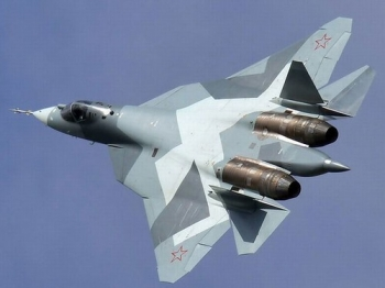 """russia-hopes-to-capture-a-third-of-the-5th-generation-stealth-fighter-market-but-the-f-35-is-intended-to-be-the-allied-jet-of-the-coming-decades-with-several-countries-already-signed-up • <a style=""""font-size:0.8em;"""" href=""""http://www.flickr.com/photos/139546847@N02/25195338455/"""" target=""""_blank"""">View on Flickr</a>"""