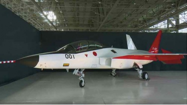 """Japan unveils new fifth generation stealth fighter jet • <a style=""""font-size:0.8em;"""" href=""""http://www.flickr.com/photos/139546847@N02/24568530963/"""" target=""""_blank"""">View on Flickr</a>"""