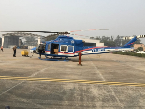 """Bell 412EP Delivered to Gov of Uttar Pradesh-aerobdnews • <a style=""""font-size:0.8em;"""" href=""""http://www.flickr.com/photos/139546847@N02/25102479541/"""" target=""""_blank"""">View on Flickr</a>"""