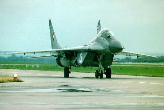 "MiG-29 • <a style=""font-size:0.8em;"" href=""http://www.flickr.com/photos/139546847@N02/30283315436/"" target=""_blank"">View on Flickr</a>"
