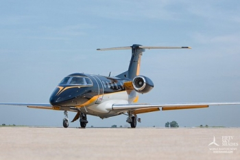 "Debut for Embraer Phenom 100 EV • <a style=""font-size:0.8em;"" href=""http://www.flickr.com/photos/139546847@N02/30681079181/"" target=""_blank"">View on Flickr</a>"