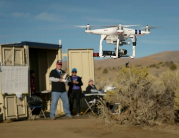 "NASA conducts 'out of sight' drone tests • <a style=""font-size:0.8em;"" href=""http://www.flickr.com/photos/139546847@N02/30004034554/"" target=""_blank"">View on Flickr</a>"