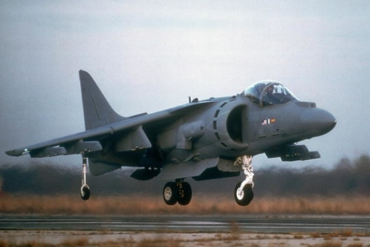 """Harrier II close to ground • <a style=""""font-size:0.8em;"""" href=""""http://www.flickr.com/photos/139546847@N02/30318276585/"""" target=""""_blank"""">View on Flickr</a>"""