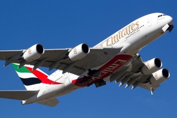 """A6-EDA aka Delta Alpha, the first A380 to join the Emirates fleet • <a style=""""font-size:0.8em;"""" href=""""http://www.flickr.com/photos/139546847@N02/29687531323/"""" target=""""_blank"""">View on Flickr</a>"""