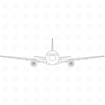 "passenger-aircraft-front-view-Download-Royalty-free-Vector-File-EPS-1318 • <a style=""font-size:0.8em;"" href=""http://www.flickr.com/photos/139546847@N02/30318261035/"" target=""_blank"">View on Flickr</a>"