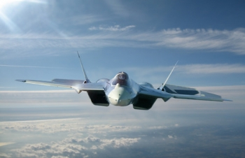 """Sukhoi_T-50_PAK-FA • <a style=""""font-size:0.8em;"""" href=""""http://www.flickr.com/photos/139546847@N02/29687454193/"""" target=""""_blank"""">View on Flickr</a>"""