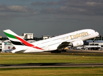 "Emirates A380 is more fuel efficient than a hybrid car, with a fuel economy of 3.1 litres per 100 passenger km • <a style=""font-size:0.8em;"" href=""http://www.flickr.com/photos/139546847@N02/30318224865/"" target=""_blank"">View on Flickr</a>"