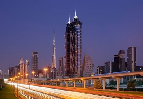 """JW Marriott Marquis, which is owned by Emirates Airline • <a style=""""font-size:0.8em;"""" href=""""http://www.flickr.com/photos/139546847@N02/30318222935/"""" target=""""_blank"""">View on Flickr</a>"""