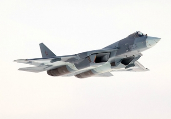 "Sukhoi PAK-FA T-50 • <a style=""font-size:0.8em;"" href=""http://www.flickr.com/photos/139546847@N02/29687456543/"" target=""_blank"">View on Flickr</a>"