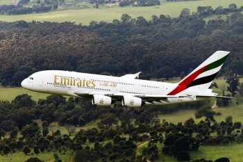 """The world's largest passenger aircraft will take off soon to Mauritius • <a style=""""font-size:0.8em;"""" href=""""http://www.flickr.com/photos/139546847@N02/29687808154/"""" target=""""_blank"""">View on Flickr</a>"""
