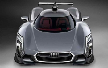 """AUDI The exotic R18 racing engine is a 3.7 liter V6 TDI • <a style=""""font-size:0.8em;"""" href=""""http://www.flickr.com/photos/139546847@N02/25267847346/"""" target=""""_blank"""">View on Flickr</a>"""