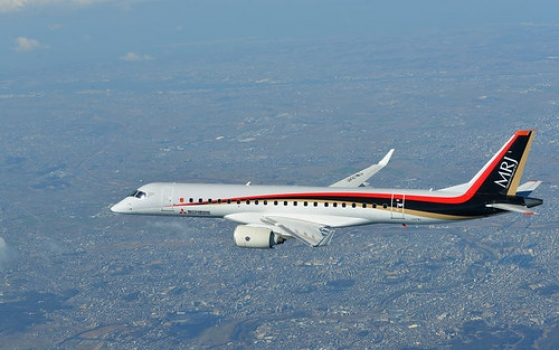"""Mitsubishi Aircraft • <a style=""""font-size:0.8em;"""" href=""""http://www.flickr.com/photos/139546847@N02/25077082832/"""" target=""""_blank"""">View on Flickr</a>"""