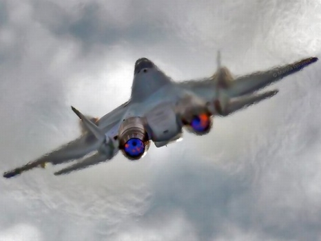"""the-t-50-will-be-the-backbone-of-the-russian-air-force--but-its-not-as-stealth-as-the-f-35-the-t-50s-designers-are-going-for-maneuverability-over-secrecy • <a style=""""font-size:0.8em;"""" href=""""http://www.flickr.com/photos/139546847@N02/25168993346/"""" target=""""_blank"""">View on Flickr</a>"""