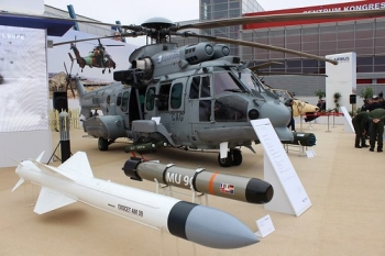"""Airbus Helicopters EC725 CARACAL (H225M) • <a style=""""font-size:0.8em;"""" href=""""http://www.flickr.com/photos/139546847@N02/25169071726/"""" target=""""_blank"""">View on Flickr</a>"""