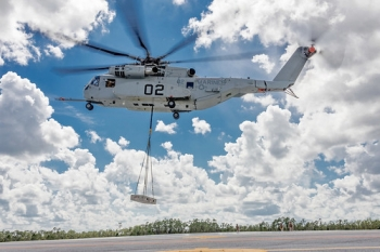 """CH-53K completes initial operational testing • <a style=""""font-size:0.8em;"""" href=""""http://www.flickr.com/photos/139546847@N02/30004029474/"""" target=""""_blank"""">View on Flickr</a>"""