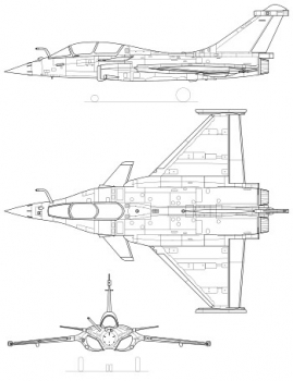 """350px-Dassault_Rafale_version.svg • <a style=""""font-size:0.8em;"""" href=""""http://www.flickr.com/photos/139546847@N02/28320725495/"""" target=""""_blank"""">View on Flickr</a>"""