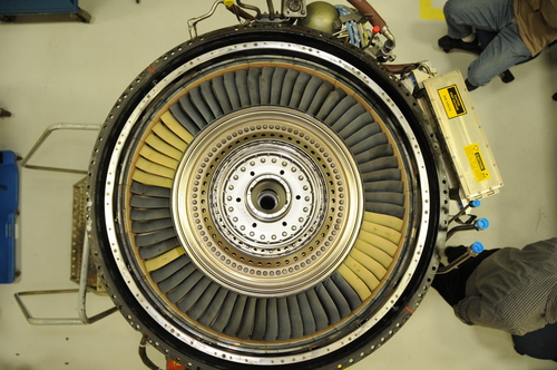 A Turbine Rotor With Blades Made From Ceramic Matrix Composites GE Thenewscompany