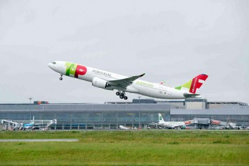 First production A330neo in Tap Portugal Livery (Image: Airbus)